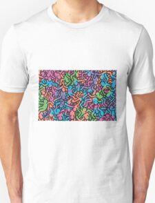 Keith Haring -Colorful- T-Shirt