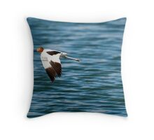 Red-necked Avocet Throw Pillow