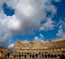 Arc of the Coliseum by lizzielizabeth