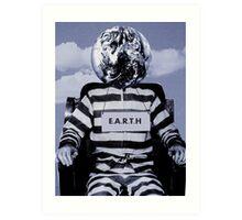 the prisoner  Art Print