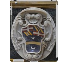 Coat of Arms in Marble. St. Paul's Cathedral, Mdina, Malta iPad Case/Skin