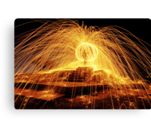The Ball of Fire Canvas Print