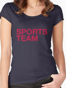 Georgia #3 Women's Fitted Scoop T-Shirt