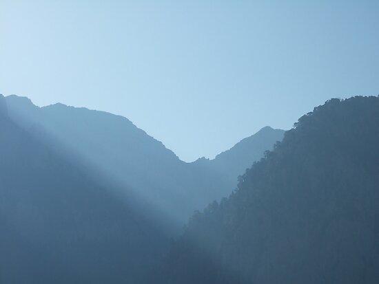 Dawn at Samaria Gorge, Crete by Graham Geldard