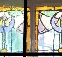 Window Pane Angels Sticker