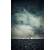 Drift away together Photographic Print