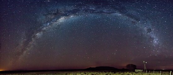 Milkyway Pano by Rob  Southey