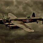 103 Squadron Avro Lancaster  by Steven  Agius