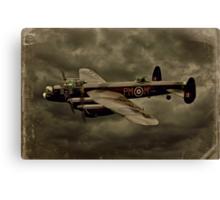 103 Squadron Avro Lancaster  Canvas Print