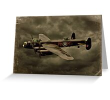 103 Squadron Avro Lancaster  Greeting Card