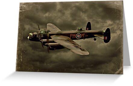 103 Squadron Avro Lancaster  by Steven  Agius