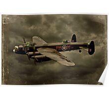103 Squadron Avro Lancaster  Poster