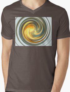 Sky Swirl Mens V-Neck T-Shirt