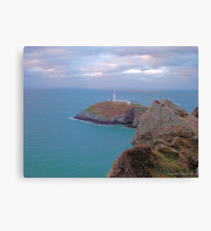south stack  Canvas Print