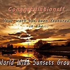 Banner World Wide Sunsets Group by César Torres