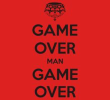 Game Over Man - Black by AledIR