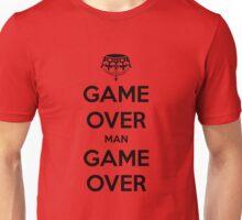 Game Over Man - Black Unisex T-Shirt