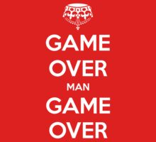 Game Over Man - White by AledIR