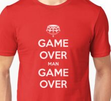 Game Over Man - White Unisex T-Shirt