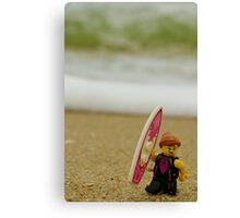 Lego Beachley Canvas Print