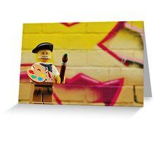 Lego Done Greeting Card