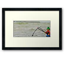 Lego Hunt Framed Print