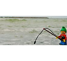 Lego Hunt Photographic Print