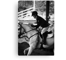 Show Jumping World Cup. Canvas Print