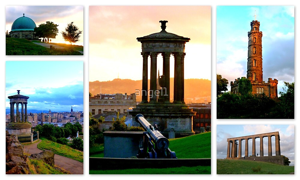 Calton Hill ~ Edinburgh by ©The Creative  Minds