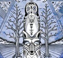 Keenan Branch + Brock Springstead collaboration. Sticker