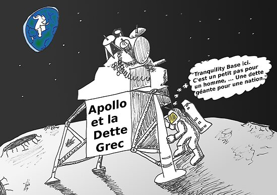 Neil ARMSTRONG : Apollo et la dette Grec by Binary-Options