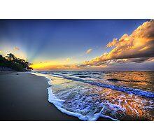 The Last Sunset Photographic Print