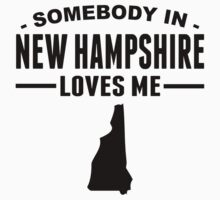 Somebody In New Hampshire Loves Me One Piece - Long Sleeve