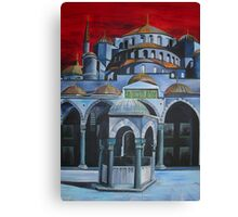 Sultan Ahmed Mosque, Istanbul Canvas Print