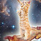 Bacon Space Cat by projone