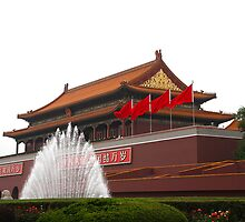 Forbidden City, Beijing by GayeL Art