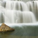 As the water falls - Almonte, ON by Josef Pittner