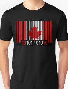 Canada Barcode Flag T-Shirt