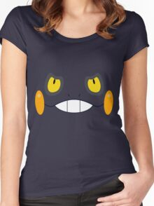 Pokemon - Croagunk / Gureggru Women's Fitted Scoop T-Shirt