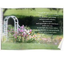 Matthew 5:14-16  Poster