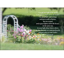 Matthew 5:14-16  Photographic Print