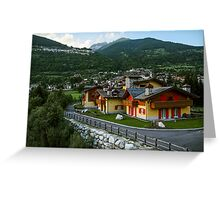 Mountain house Greeting Card
