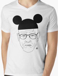 Walt Disney Mens V-Neck T-Shirt