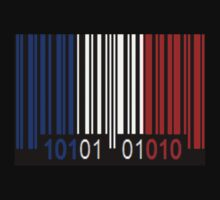 France Barcode Flag by Netsrotj