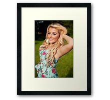 Rosey15 Framed Print
