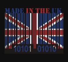UK Barcode Flag Made In... by Netsrotj