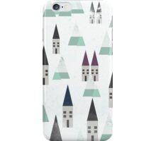 VILLAGE ON WINTER iPhone Case/Skin