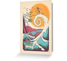 Surf Before Christmas Greeting Card