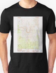 USGS Topo Map Washington State WA Mount St Helens 242550 1983 24000 Unisex T-Shirt
