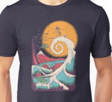 Surf Before Christmas Unisex T-Shirt
